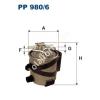 Filtron PP980/6 Filtron üzemanyagszűrő