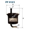 Filtron PP912/3 Filtron üzemanyagszűrő