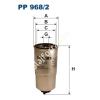 Filtron PP968/2 Filtron üzemanyagszűrő