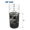 Filtron OP626 Filtron olajszűrő