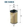 Filtron OE648/6 Filron olajszűrő