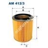 Filtron AM412/3 Filtron levegőszűrő