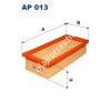 Filtron AP013 Filtron levegőszűrő levegőszűrő