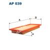 Filtron AP039 Filtron levegőszűrő
