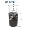 Filtron OP647/2 Filron olajszűrő
