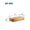 Filtron AP095 Filtron levegőszűrő