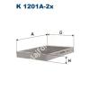 Filtron K1201A-2x Filtron pollenszűrő