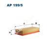 Filtron AP199/5 Filtron levegőszűrő