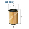 Filtron OE683/1 Filron olajszűrő