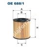 Filtron OE688/1 Filron olajszűrő