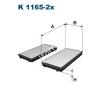 Filtron K1165-2x Filtron pollenszűrő