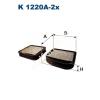 Filtron K1220a-2x Filtron pollenszűrő