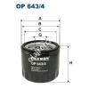 Filtron OP643/4 Filron olajszűrő