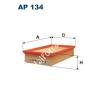 Filtron AP134 Filtron levegőszűrő
