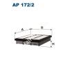Filtron AP172/2 Filtron levegőszűrő