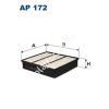 Filtron AP172 Filtron levegőszűrő