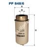 Filtron PP848/6 Filtron üzemanyagszűrő