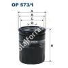 Filtron OP573/1 Filron olajszűrő