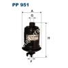 Filtron PP951 Filtron üzemanyagszűrő