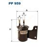 Filtron PP959 Filtron üzemanyagszűrő
