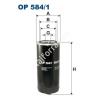 Filtron OP584/1 Filron olajszűrő