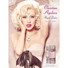 Christina Aguilera Royal Desire Gift Set (15ml EDP + 50ml Testápoló + 50ml tusfürdõ) nõi kozmetikai ajándékcsomag