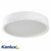 KANLUX JASMIN 470-W/M lámpa E27 3X60W matt fehér