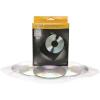 FELLOWES CD/DVD boríték, műanyag, átlátszó, FELLOWES