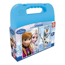 Educa Disney Jégvarázs puzzle táskában, 2x48 darabos puzzle, kirakós