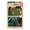 Educa Disney Dínó tesó fa puzzle, 2x25 darabos