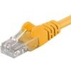 PremiumCord Patch kábel UTP CAT6, 1m, Sárga