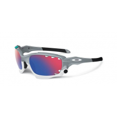 Oakley napszemüveg Racing Jacket Fog/ Positiv Red Iridium Vented & Black Iridium Vented