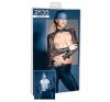 ZADO - csipke-bőr boleró (fekete) (S) bőr, lakk, latex eszköz