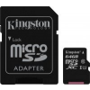 Kingston microSDXC 64GB UHS-1 (SDC10G2/64GB) Memóriakártya + adapter