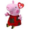 Ty. Plüss figura Beanie Babies Peppa Pig Lic 15 Muddy