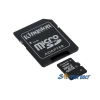 Kingston 16GB SD micro (SDHC Class 4) (SDC4/16GB) memória kártya adapterrel