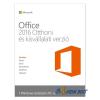Microsoft Office 2016 Otthoni és kisvállalati verzió Elektronikus licenc szoftver