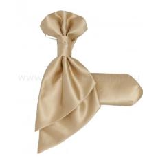 Goldenland Francia nyakkendõ,díszzsebkendõvel - Arany