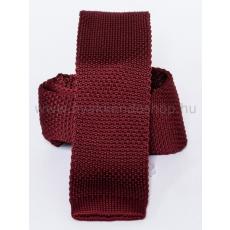 Prémium kötött nyakkendõ - Bordó