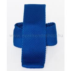 Prémium kötött nyakkendõ - Királykék