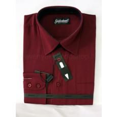 Goldenland extra hosszúujjú ing - Bordó