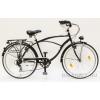 SCHWINN CSEPEL Neo 26 7sp Fekete férfi cruiser kerékpár (2016)