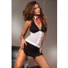 Lívia Corsetti LOIS fekete - fehér erotikus fantázia szett