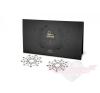 Bijoux Indiscrets Mimi Nipple Covers öntapadós szilikonos ezüst színű Mellbimbó Ékszer fehér kristályokkal erotikus ajándék