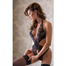 Softline Silvia fekete csipke női body body
