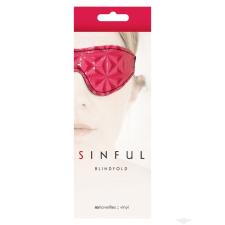 Ns Toys Sinful pink szemkötő maszk