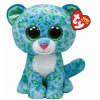 Ty. Plüss figura Beanie Boos 24 cm Leona - kék leopárd