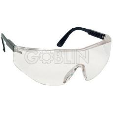 Lux Optical® Sablux védõszemüveg, víztiszta, oldalvédõs, karcmentes lencse, állítható szárhossz, 10 db