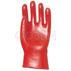 Euro Protection PVC light 27 cm-es, piros, gazdaságos védõkesztyû, 10 pár