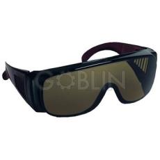 Lux Optical® Visilux védõszemüveg, zöld lencse, napon végzett munkákhoz, 3-as fokozat, 10 db